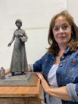 Denise Dutton Completes Plaster Line Maquette