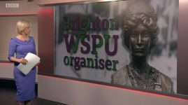 """Special BBC Report on the """"Forgotten Suffragette"""""""