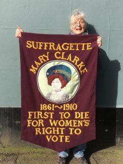 A Banner for International Women's Day